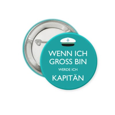 Button - Kapitän - Ø 38 mm