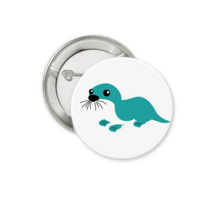 Button - Otter - Ø 38 mm