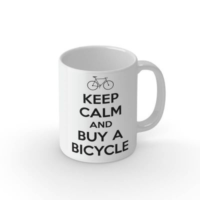 Tasse - Keep calm & buy a bicycle