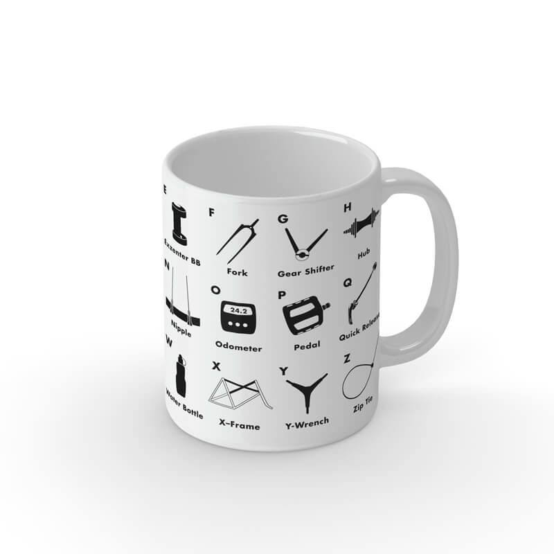 Tasse Bicycle abc